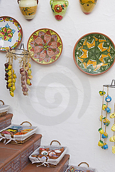 Ceramics Display Stock Images - Image: 9419834