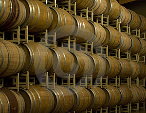 Barrel Room Horizontal Stock Images - Image: 9420254