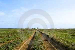 Desert Road To Horizon Royalty Free Stock Image - Image: 9420976