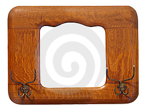 Antique Picture Frame / Hat Rack Royalty Free Stock Photo - Image: 9421335