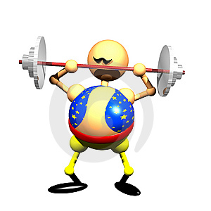 Strong Man Clipart Royalty Free Stock Photography - Image: 9422587