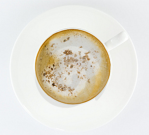 Cup Of Coffee, Latte Or Cappuccino Royalty Free Stock Image - Image: 9423316