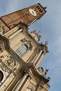 Treviglio Dome Stock Photography - Image: 9425082