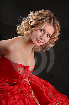 Beautiful Girl With Big Breast Stock Images - Image: 9425654