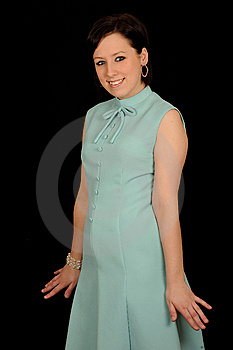 Portrait Of Young  Woman Stock Photo - Image: 9426390
