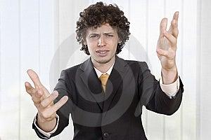 Angry Businessmen Explains Stock Image - Image: 9427131