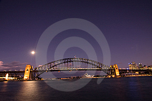 Sydney - Night City Skyline Stock Photos - Image: 9428193