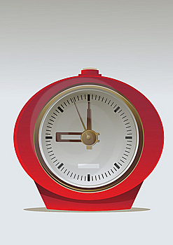 Retro Alarm-clock Royalty Free Stock Photo - Image: 9428615