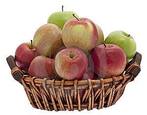 Apple Basket Royalty Free Stock Photography - Image: 9430027