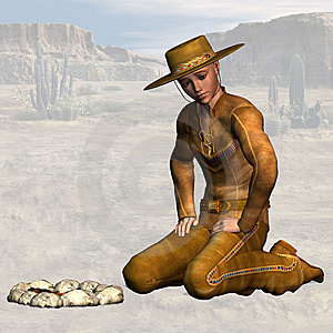 Cowboy #05 Stock Images - Image: 9430194