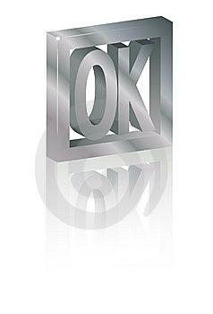 Ok Symbol Royalty Free Stock Image - Image: 9432736