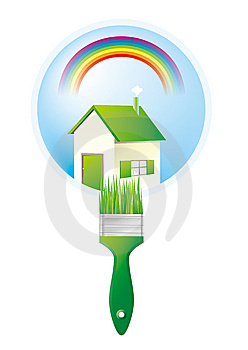 Green House Royalty Free Stock Image - Image: 9434776