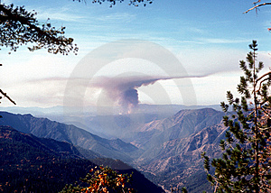 California Forest Fire Stock Photos - Image: 9437203