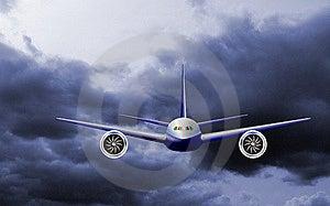 Light Commercial Jet Plane Stock Photo - Image: 9440170
