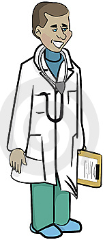 A Male Doctor Royalty Free Stock Photos - Image: 9441028