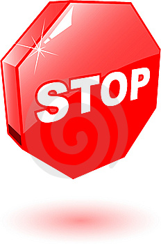 Stop Symbol Royalty Free Stock Images - Image: 9442119
