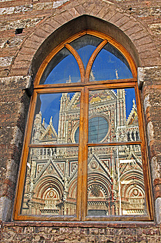 Reflex In A Window Stock Photos - Image: 9442263