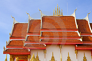 Thai Style Church Roof Royalty Free Stock Photo - Image: 9445545