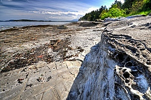 Shoreline West Coast Stock Image - Image: 9448961