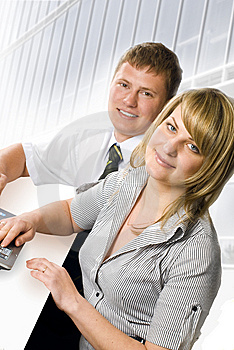 Business Partners Royalty Free Stock Photography - Image: 9449357