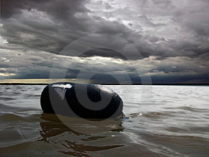 Crabber's Buoy Stock Photography - Image: 9449542
