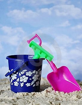 Beach Toys Royalty Free Stock Photo - Image: 9450815