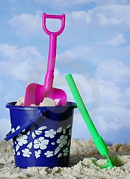 Beach Toys Royalty Free Stock Image - Image: 9450816