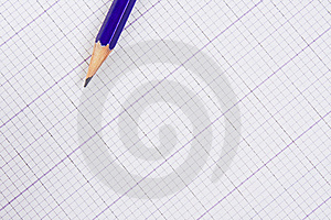 Pencil And Paper For The Drawing. Stock Photo - Image: 9459290