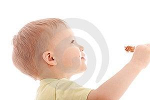 Portrait Of Joyful Boy Reach Sugar Candy Stock Photos - Image: 9462133