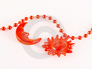 Red Moon And Sun Stock Images - Image: 9463724
