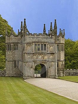 Lanhydrock Gate House Stock Image - Image: 9465821