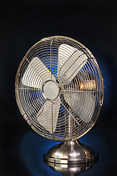 Old Style Fan Stock Photo - Image: 9467760