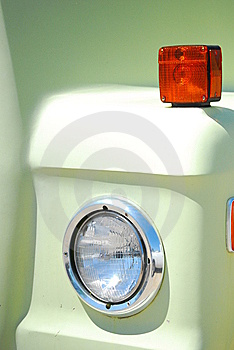 One Headlight Royalty Free Stock Photo - Image: 9468355