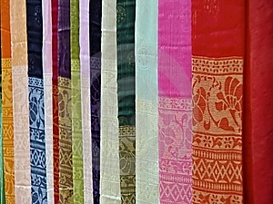 Pieces Of Cloth Stock Photos - Image: 9468503