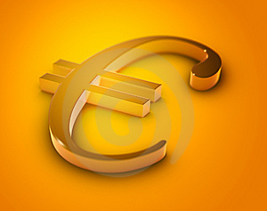Euro Sign Stock Photography - Image: 9468842