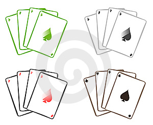 Playing Cards Stock Images - Image: 9469424