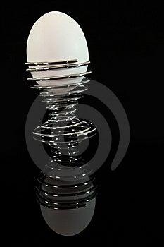 Egg Reflection Stock Photos - Image: 9471913