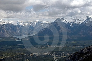 NNorth American Mountains And Glacier Royalty Free Stock Image - Image: 9472306