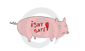Swine Flu Stock Photo - Image: 9474650