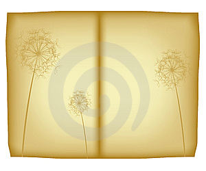 Old Floral Paper Royalty Free Stock Images - Image: 9474919