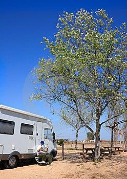 Motorhome Royalty Free Stock Photos - Image: 9475388