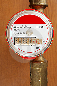 Meter And Tubes Stock Images - Image: 9476574
