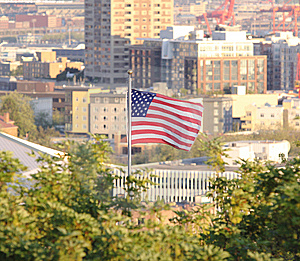 An American City Royalty Free Stock Photography - Image: 9477417