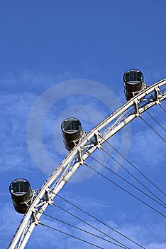 Singapore Flyer Cabin Stock Image - Image: 9477741