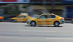 Yellow Cab Royalty Free Stock Photos - Image: 9478108