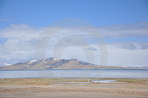 Snow Mountain And Lake In Tibet Stock Photography - Image: 9486752