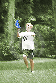 Boy Playing Catch Royalty Free Stock Image - Image: 9486966