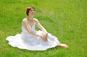 Summer Woman Royalty Free Stock Photo - Image: 9487135