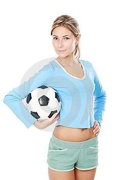 Female Soccer Stock Photo - Image: 9490780
