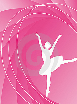 Classical Dancer On The Background Stock Image - Image: 9492751